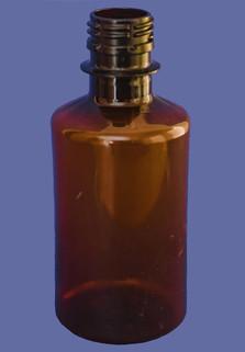 Пластиковая бутылка 0.25 л. (прозрачный, гладкая)
