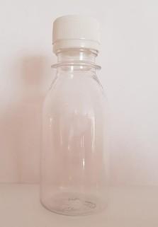 Пластиковая бутылка 0.1 л. (прозрачный, гладкая)
